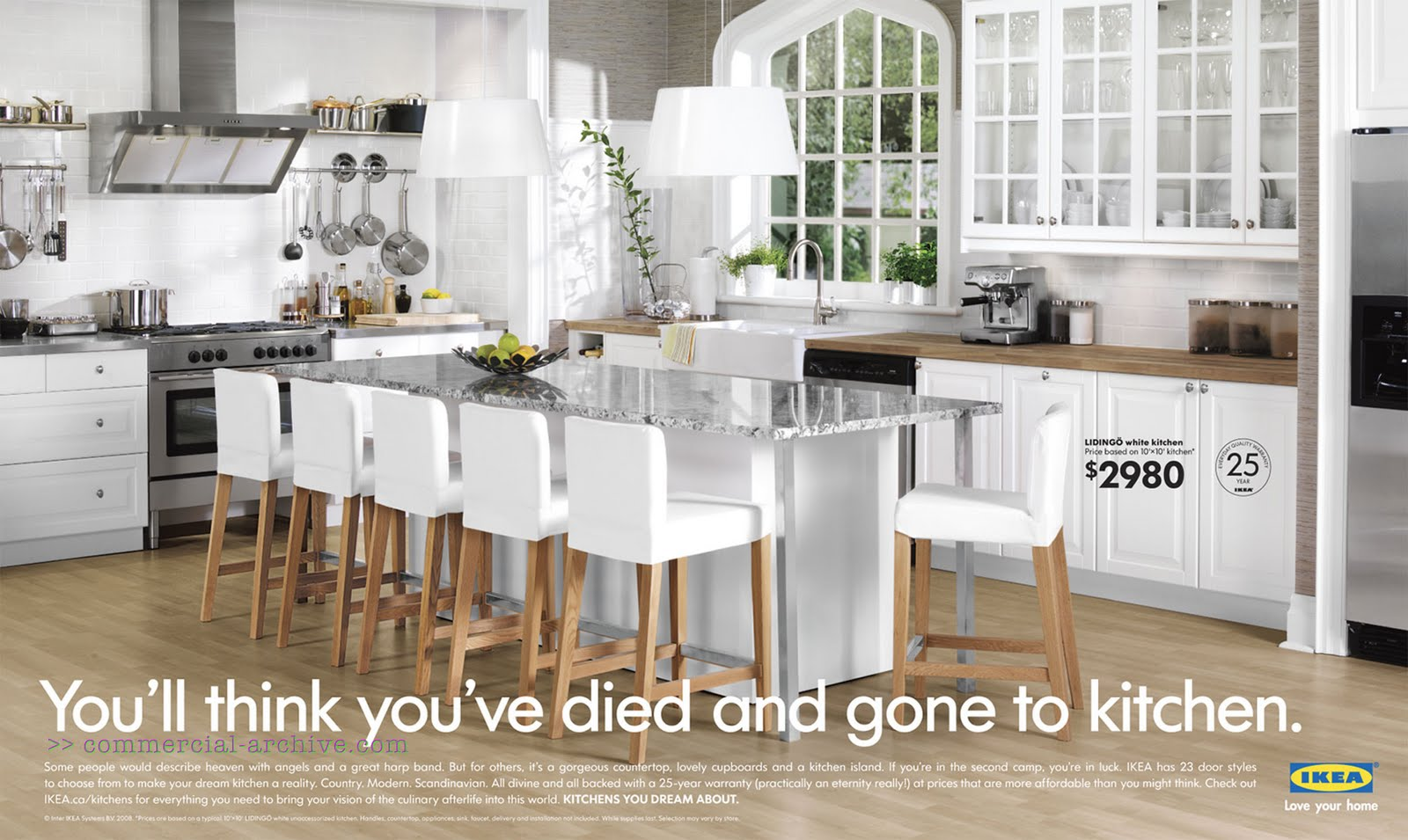 Ikea the fine print sacratomatoville post for Kitchen designs canada