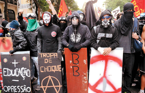 Leiter Reports: A Philosophy Blog: The Black Bloc: Hedges vs Graeber